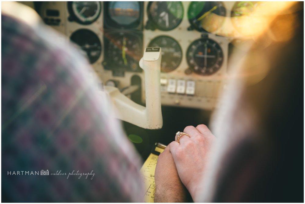 Pilot Airplane Engagement Photographer 000062