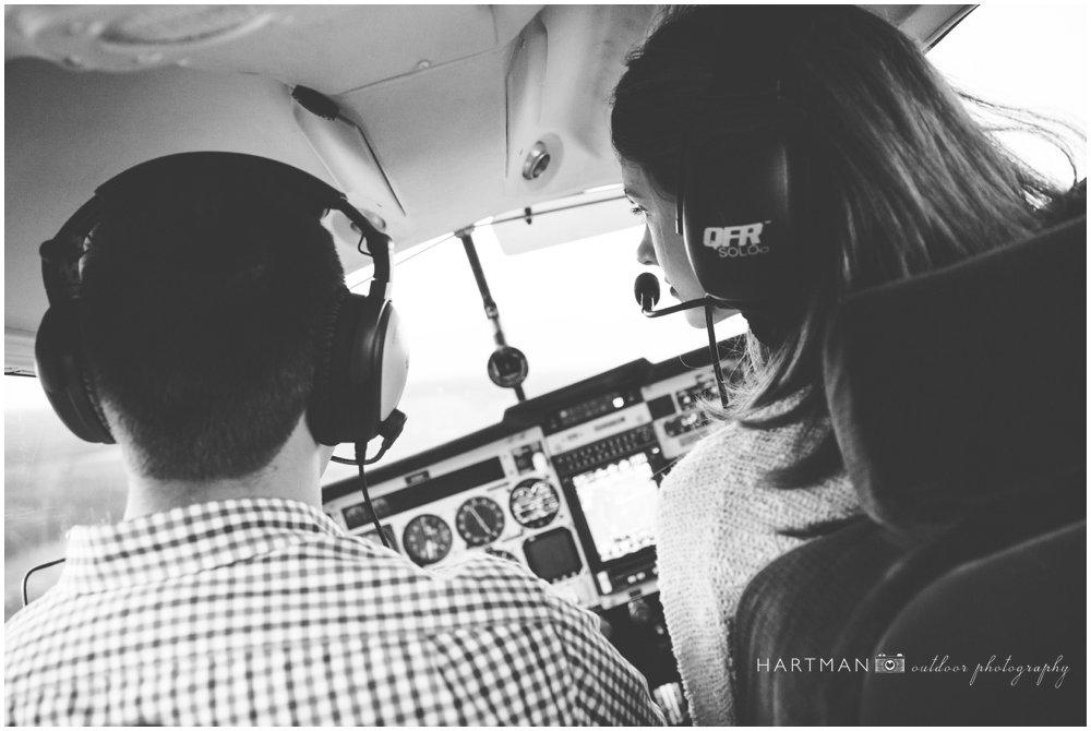 Airplane Pilot Engagement Wedding 000064