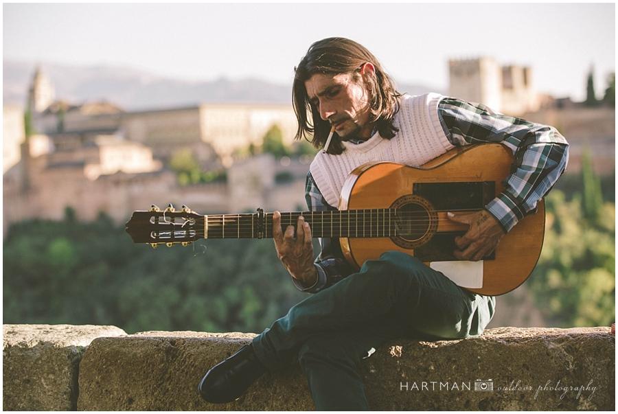 Spain Travel Photos Guitarist