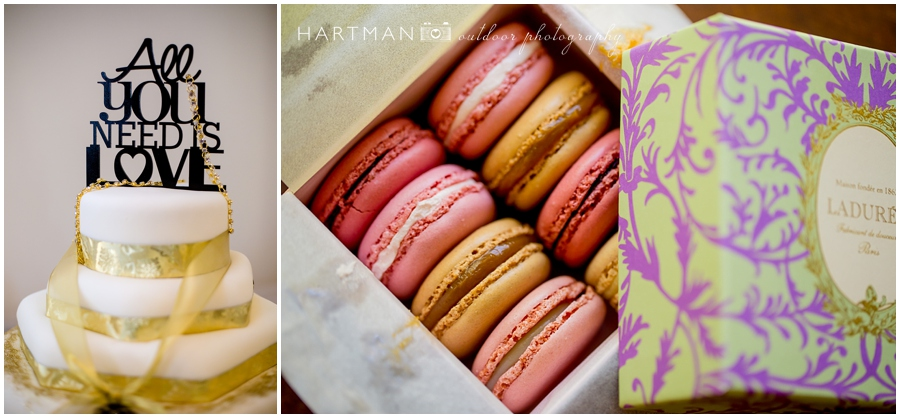gatsby themed gold wedding cake