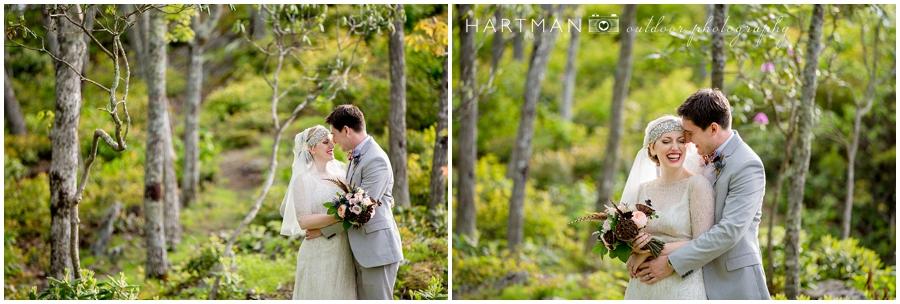 North Carolina Mountain Wedding Couples Portraits Photographer