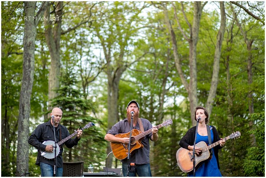 The whole shebang wedding bluegrass band Boone Jefferson NC