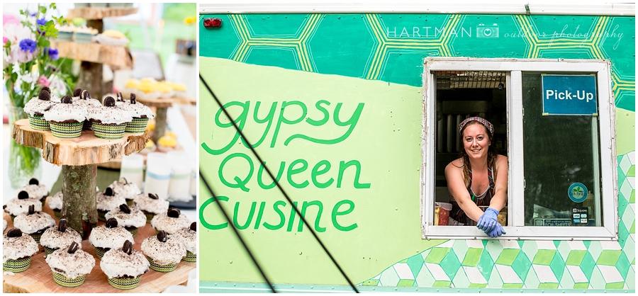 Gypsy Queen Food Truck Wedding Asheville
