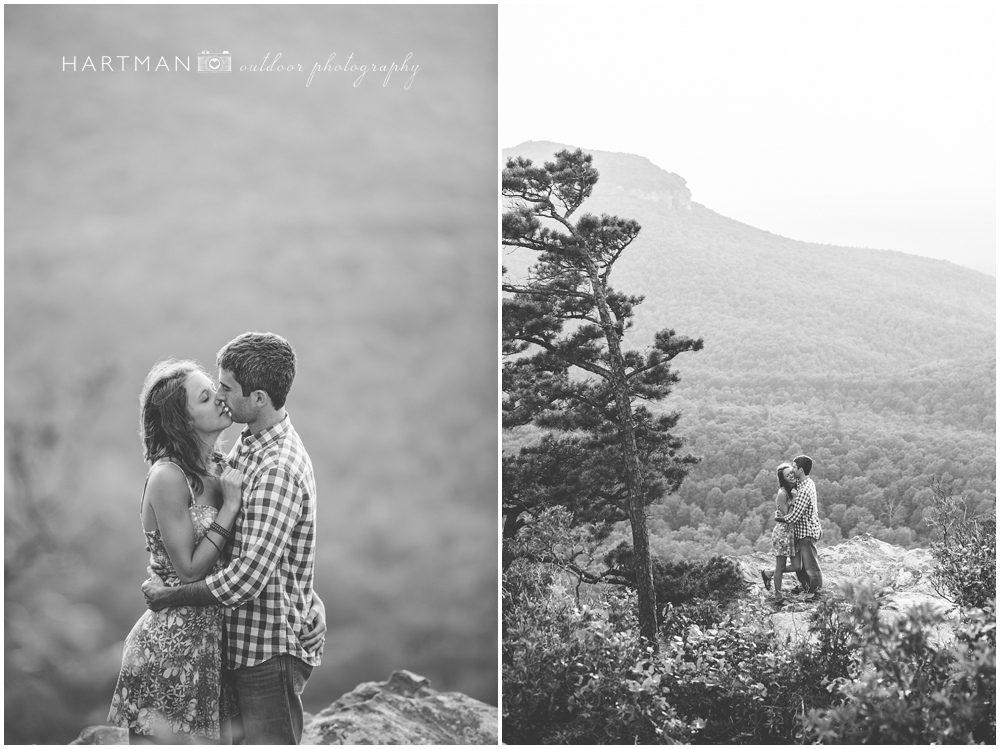 Sarah Mountain Engagement Session