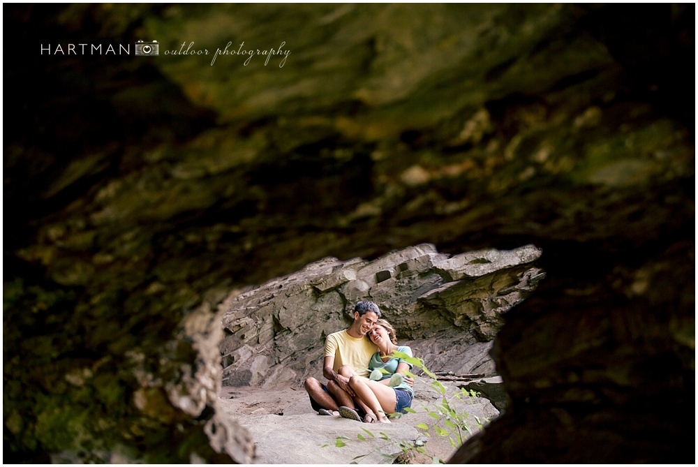 Hanging Rock Engagement Session