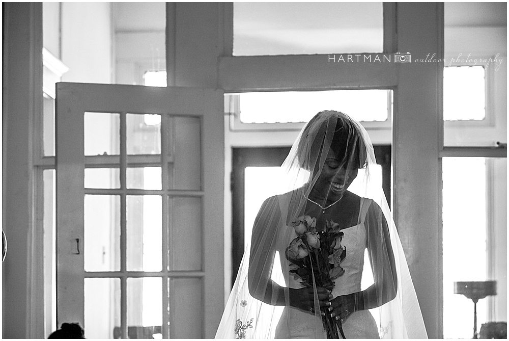Tucker House Bridal Portrait Raleigh