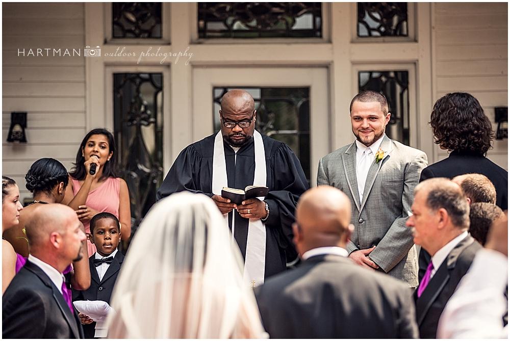 Tucker House Wedding Ceremony