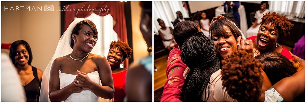 Sorority Sisters at Wedding