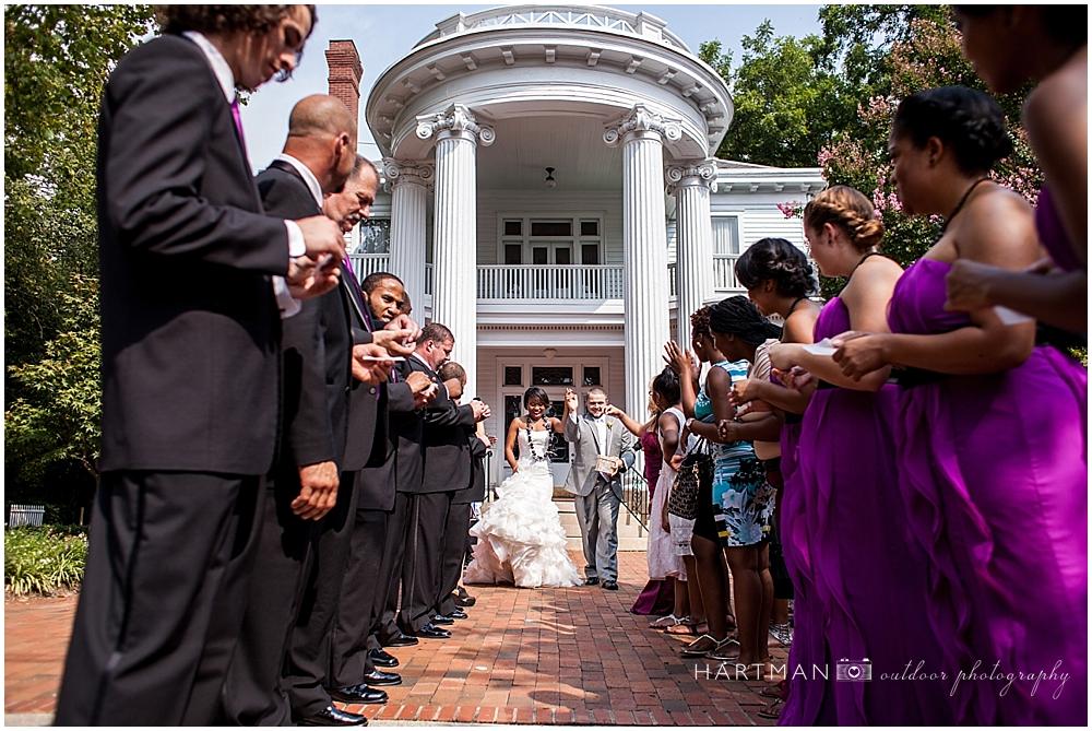 Raleigh Historic Wedding Venue Getaway