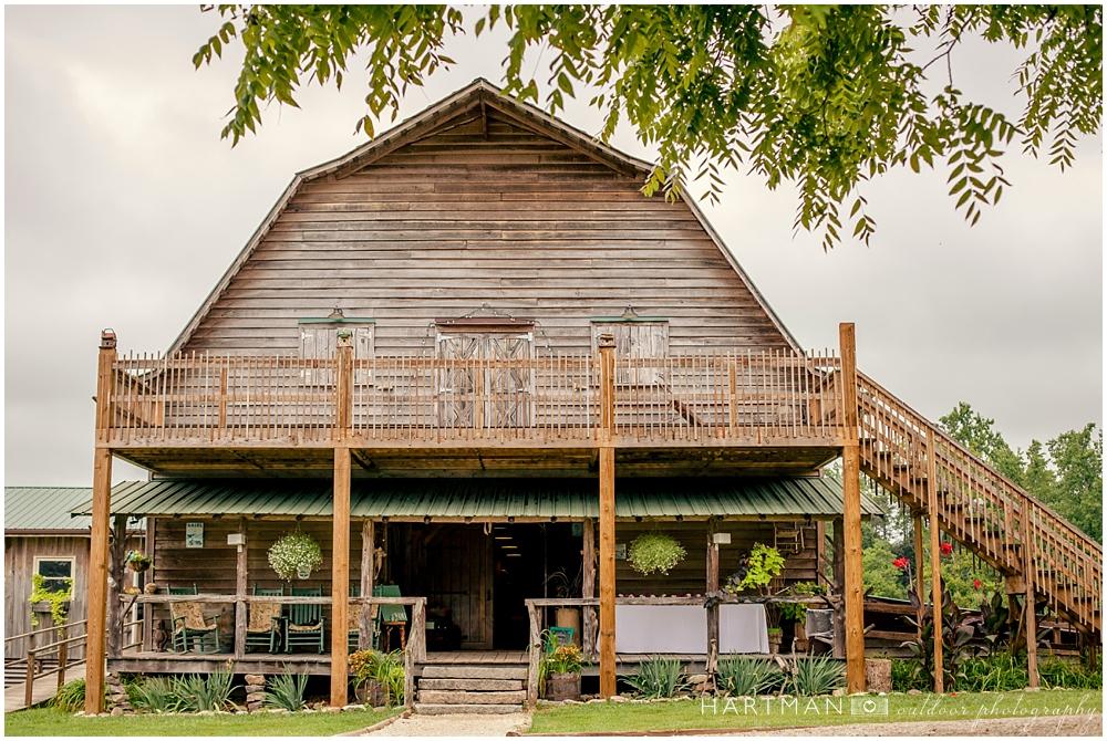 Hodgin Valley Farm Reception