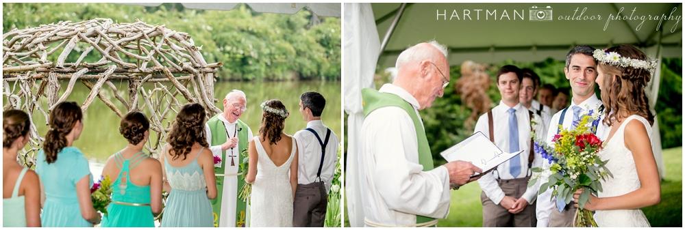 Hodgin Valley Farm Wedding Ceremony
