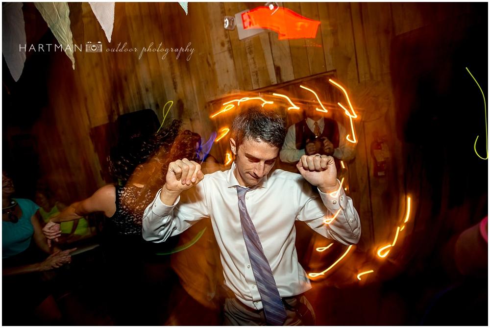 Groom Dancing Funky