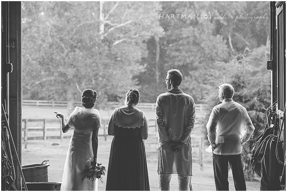 Raeford Wedding Rain