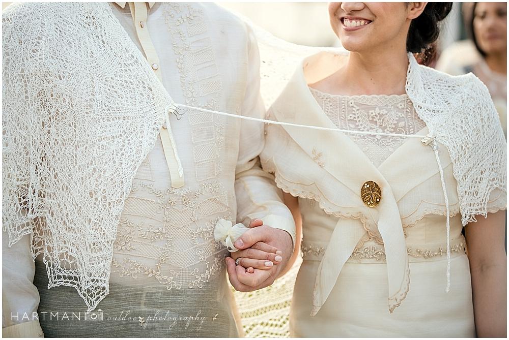 Raeford Filipino Veil Ceremony