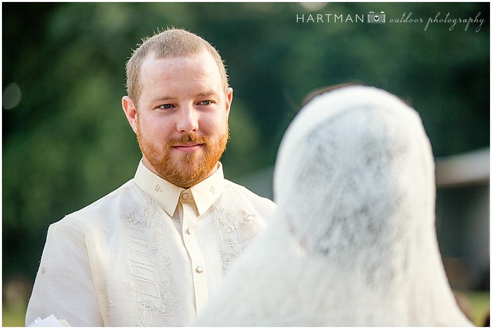 Dan wedding ceremony