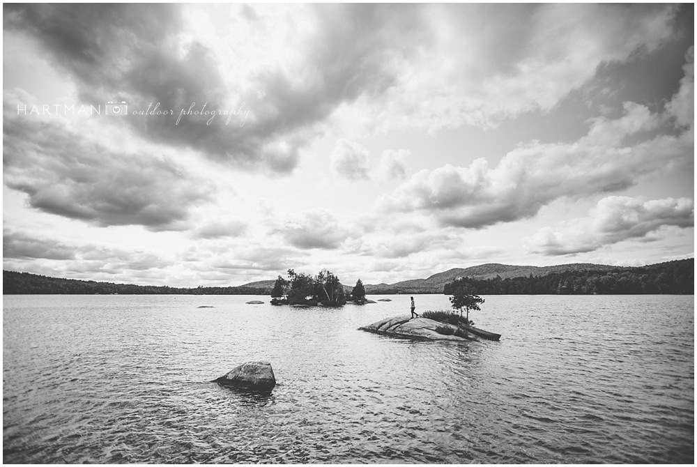 Blue Mountain Lake Adirondacks Photo