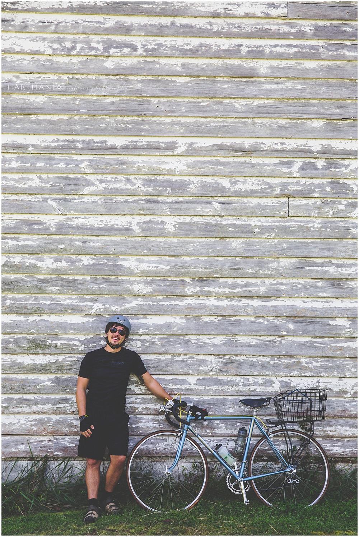 Biking to Durham 05550