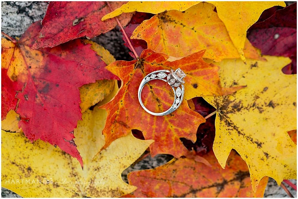 Fall Ring Shot Grayson Highlands Engagement 0014