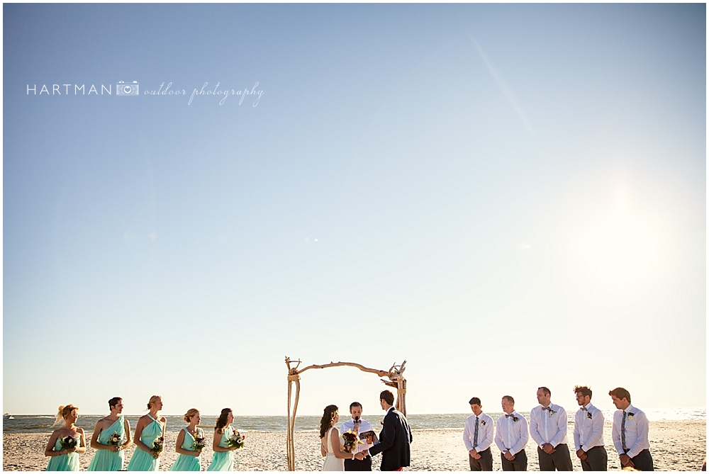 Southern Charm Beach House Ceremony 0085