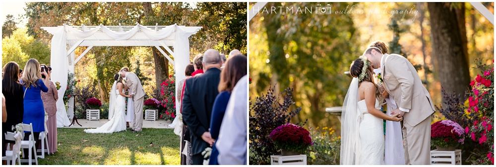 Raleigh Outdoor Wedding Ceremony