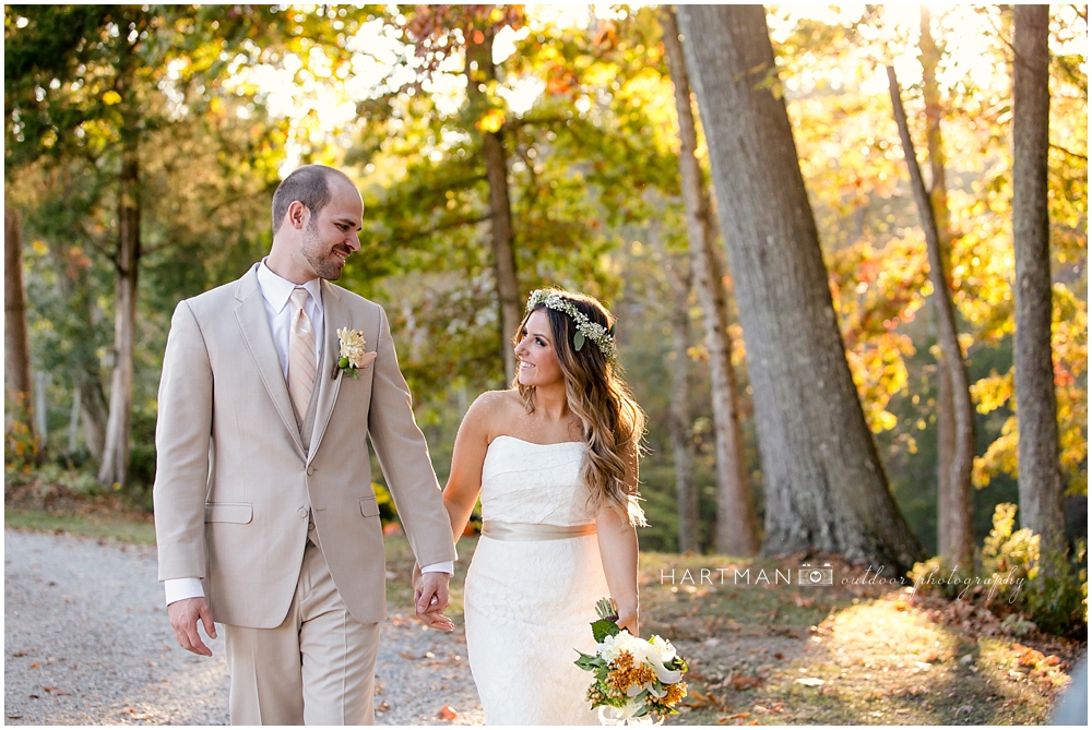 Autumn NC Raleigh Wedding