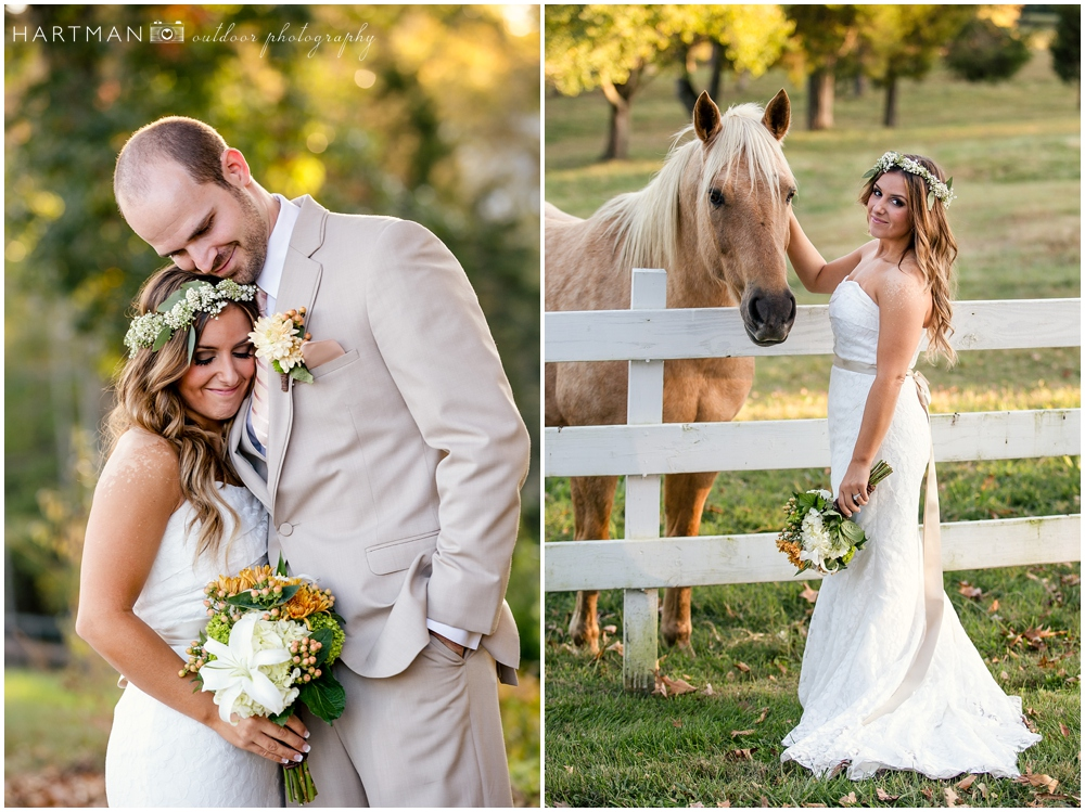north carolina horse farm wedding