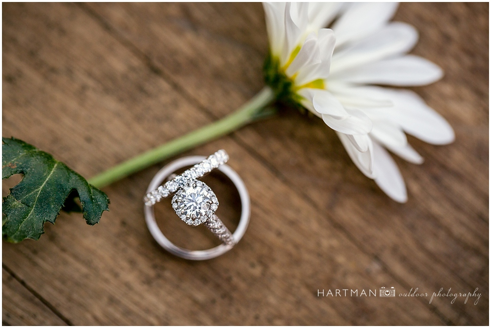 Daisy Wedding Ring Photographer
