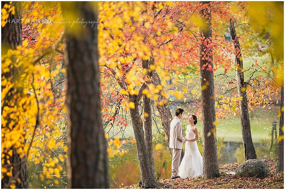 Autumn Fearrington Barn Wedding  02365