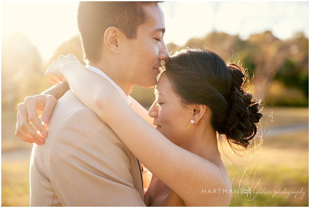 Sunset Fearrington Village Wedding  02370