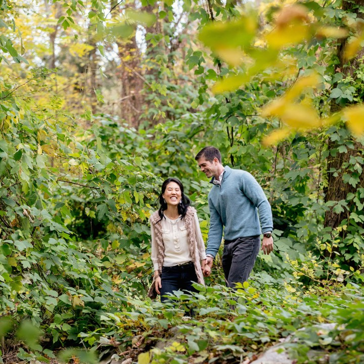 Sulene + Grayson | Lake Lure and Chimney Rock NC Engagement