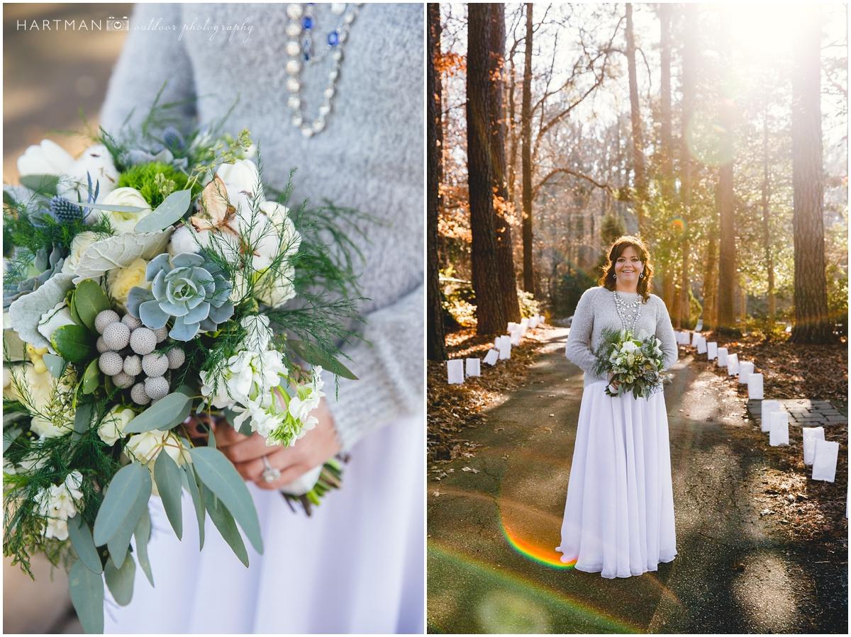 Carolina Winter Wedding Bouquet