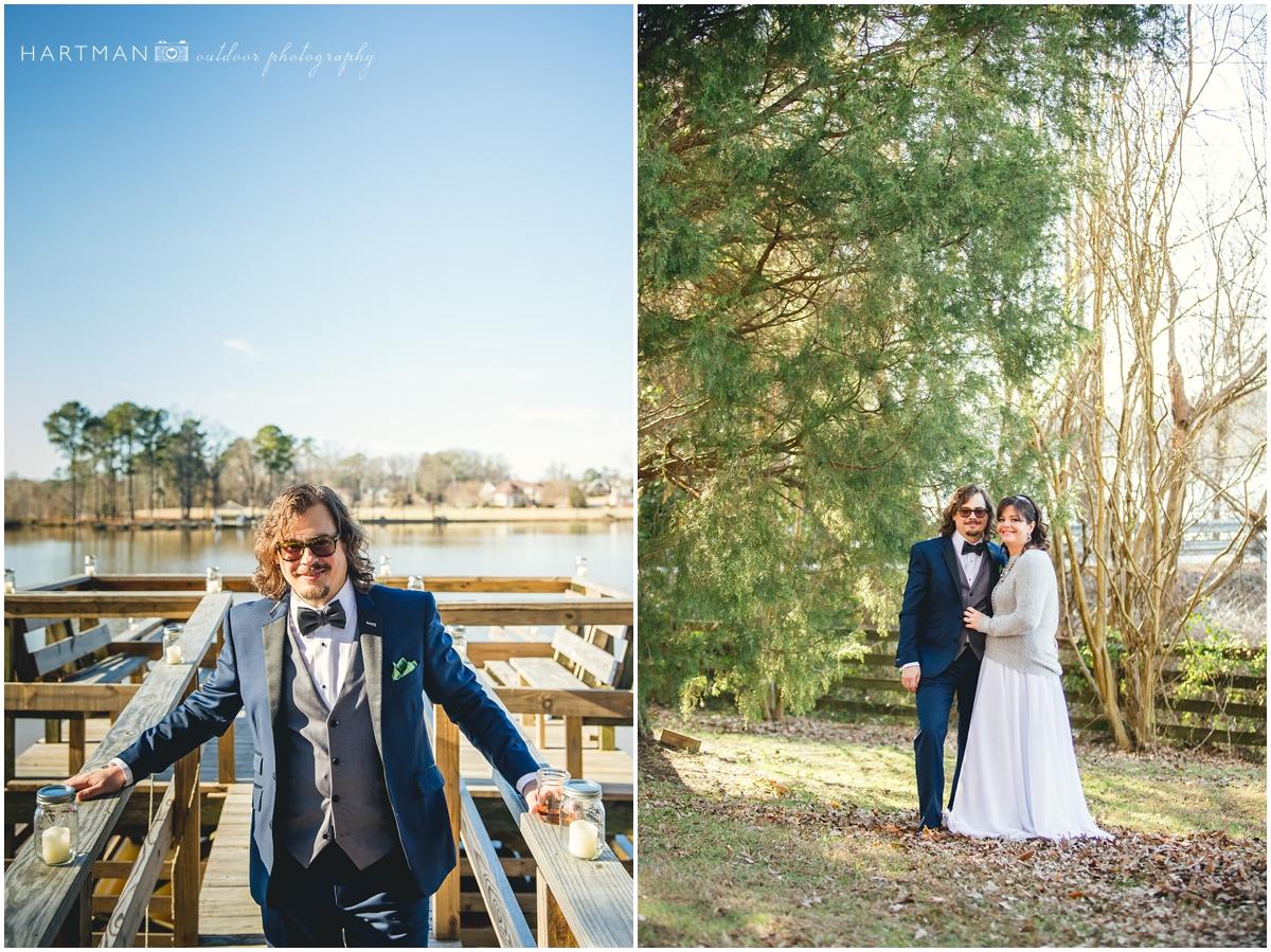 Raleigh Winter Wedding Photographer