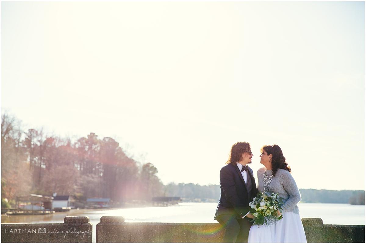 North Carolina River Wedding photographer