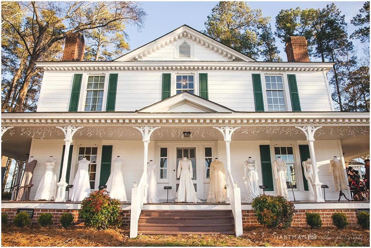 North Carolina Historic Wedding