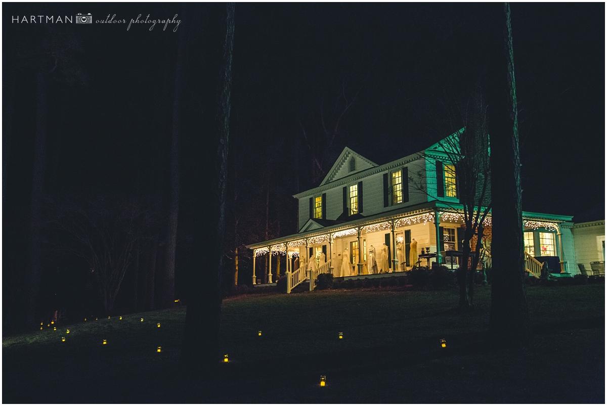 Evening Historic Candlelight Reception