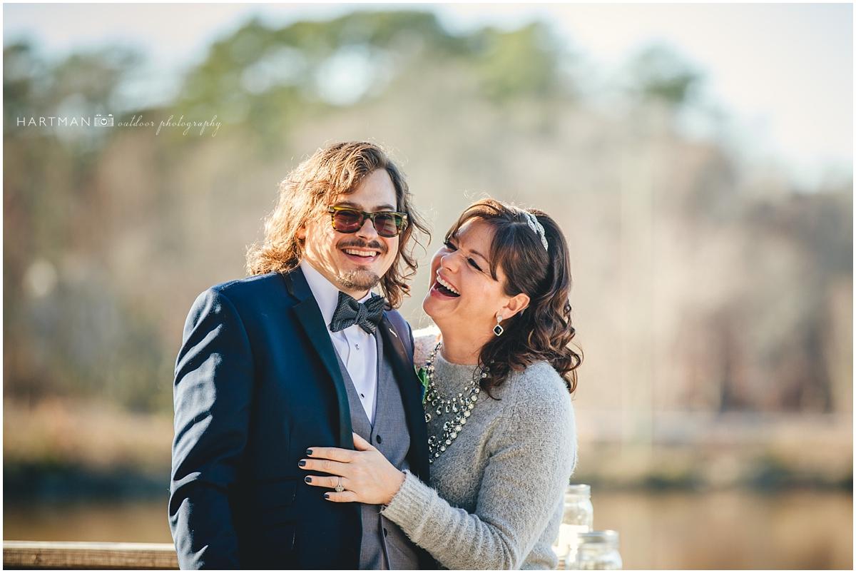 Candid Winter Wedding photogrpher