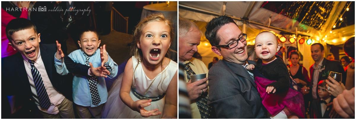 Raleigh kids wedding reception