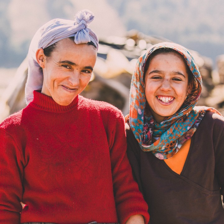 Hartmans Visit the Middle Atlas Mountains, Morocco