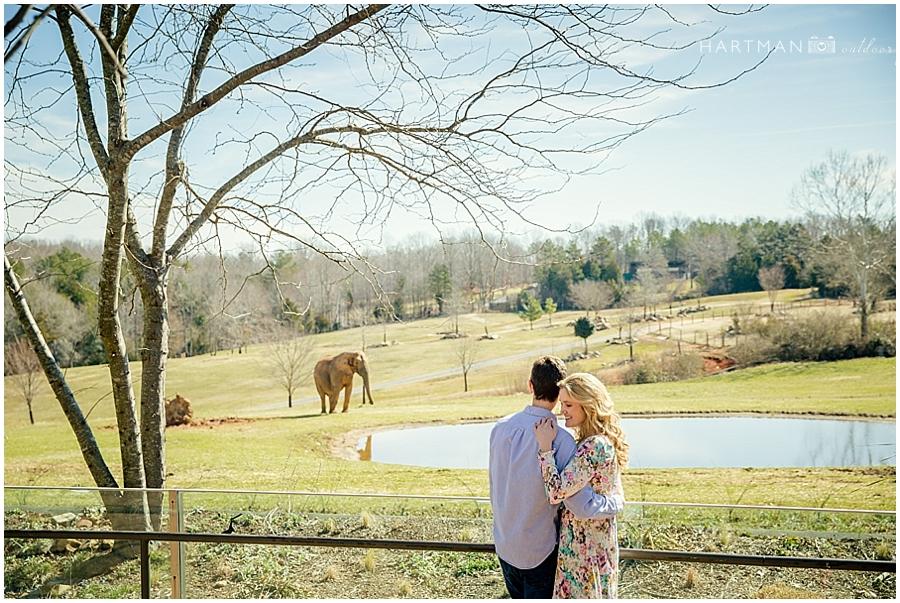 North Carolina  Zoo Wedding 00016