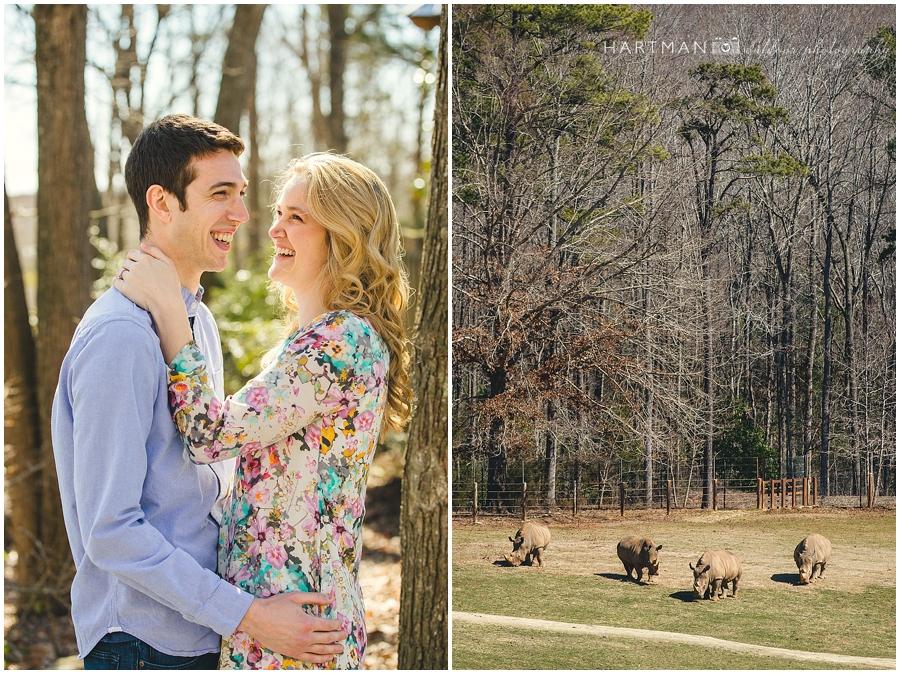 North Carolina  Zoo Wedding 00026