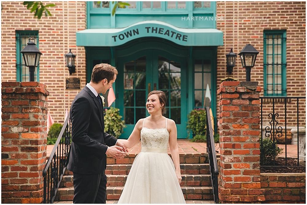 Raleigh Theater Wedding
