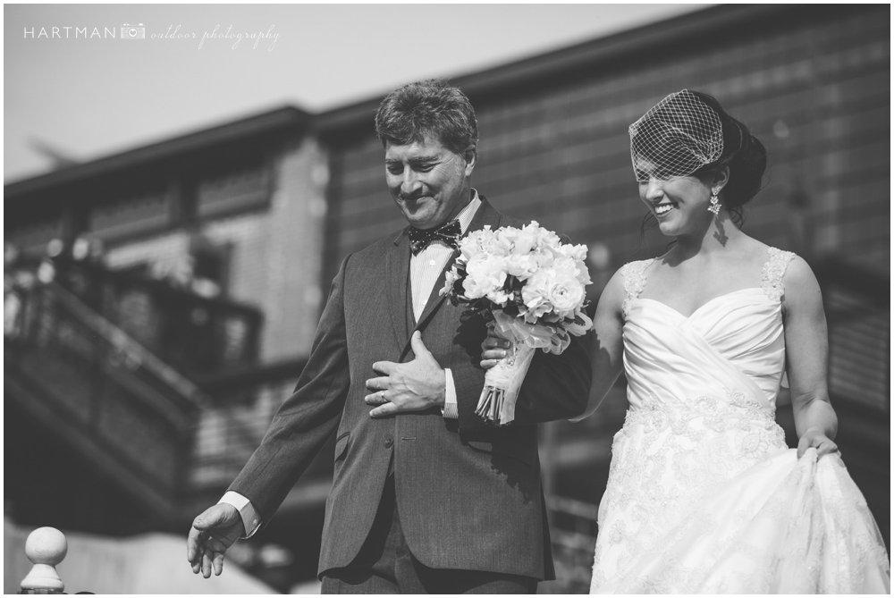 Wedding Ceremony Haw River Ballroom 000045