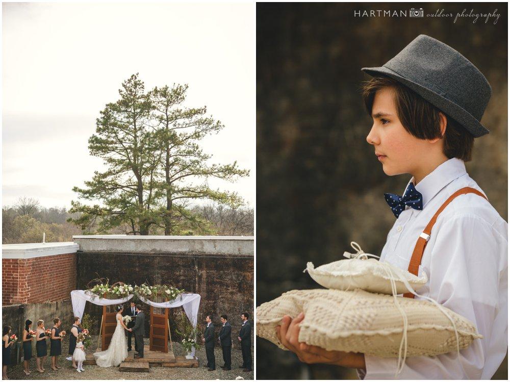 Winter Wedding Haw River Ballroom  000058