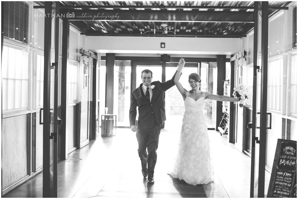 Bride and Groom Haw River Ballroom 000085