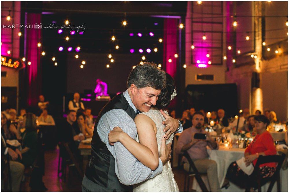 Bride Father Dance Haw River Ballroom 000101