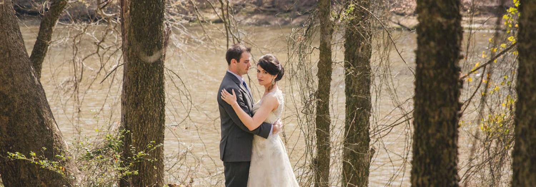 Kirsten + Zach | Haw River Ballroom Outdoor Wedding
