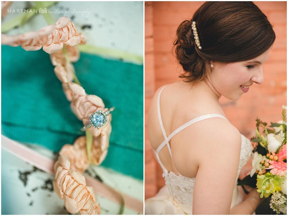 Peach Turquoise Wedding 00723