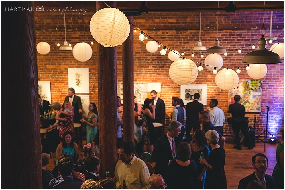 City Art Gallery Wedding Reception  00752