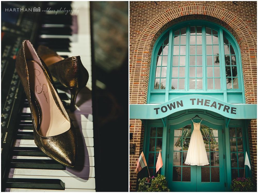 Columbia Town Theater Wedding