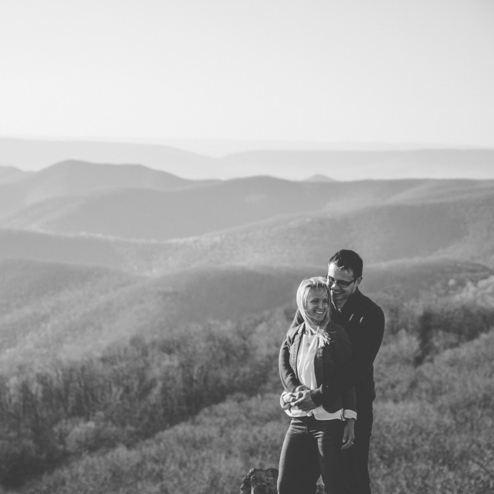 Brittany + Rob | Shenandoah National Park Engagement